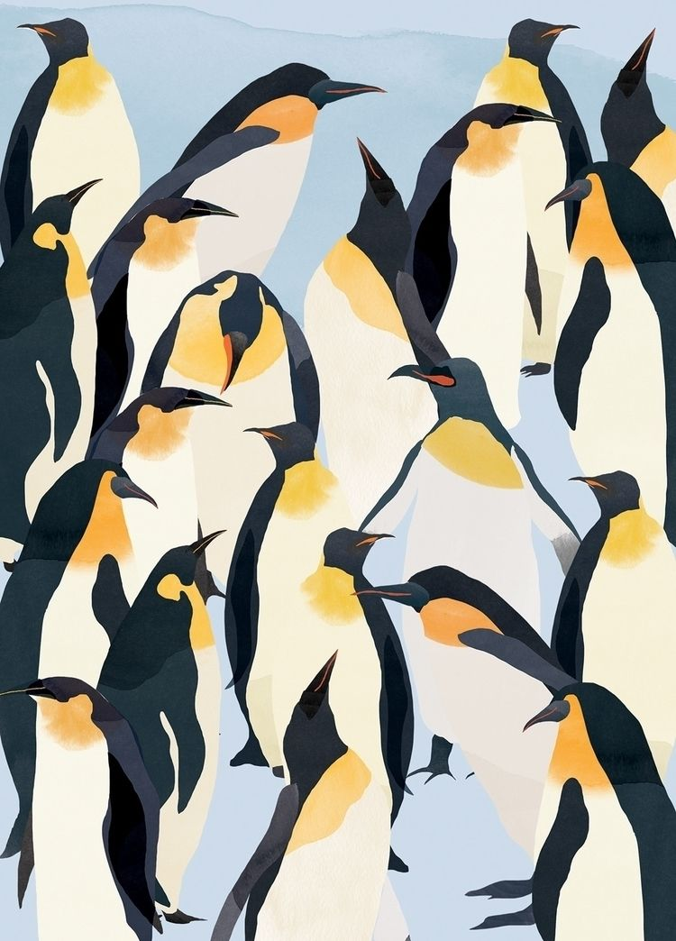 | March Penguins illustrations  - catherinecordasco | ello