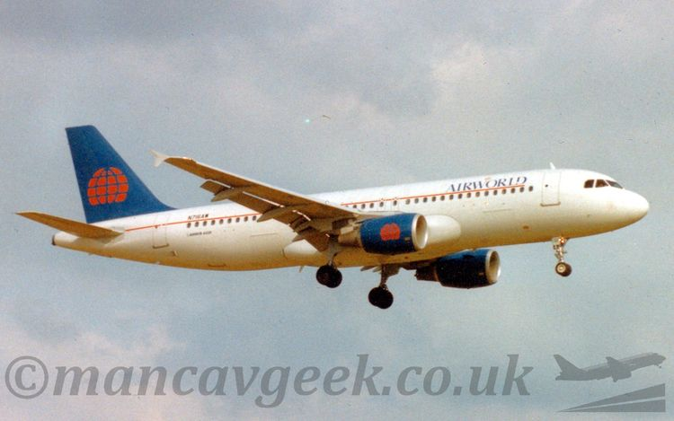 N716AW, A320-200, Airworld. tou - mancavgeek | ello