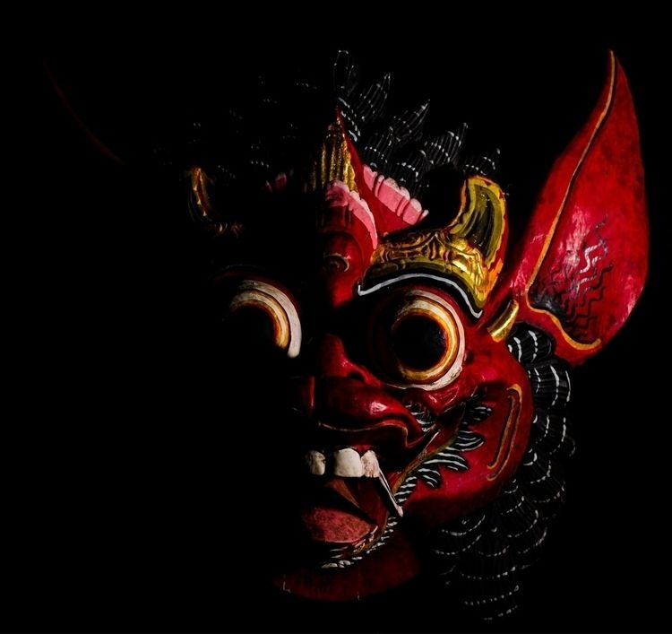 Experimenting flash, loved mask - jb3dahmen | ello