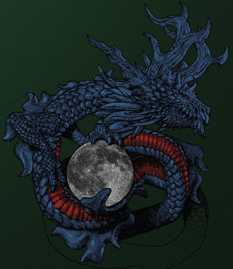 dragon represents personal obst - ataraxiaa   ello