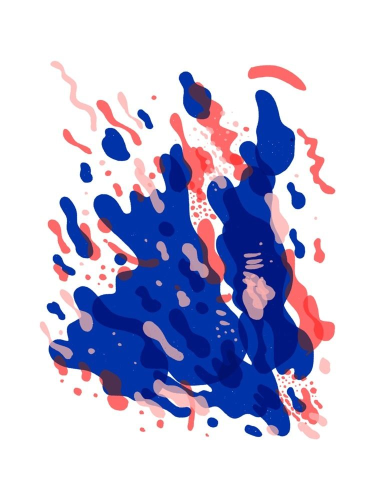 Coral Explosion - illustration, doodle - taptapkaboom | ello