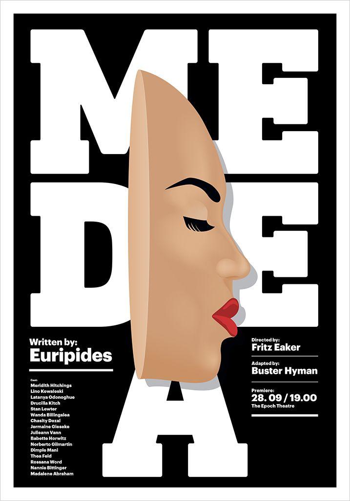 Medea Poster theater play Eurip - ivanmisic   ello