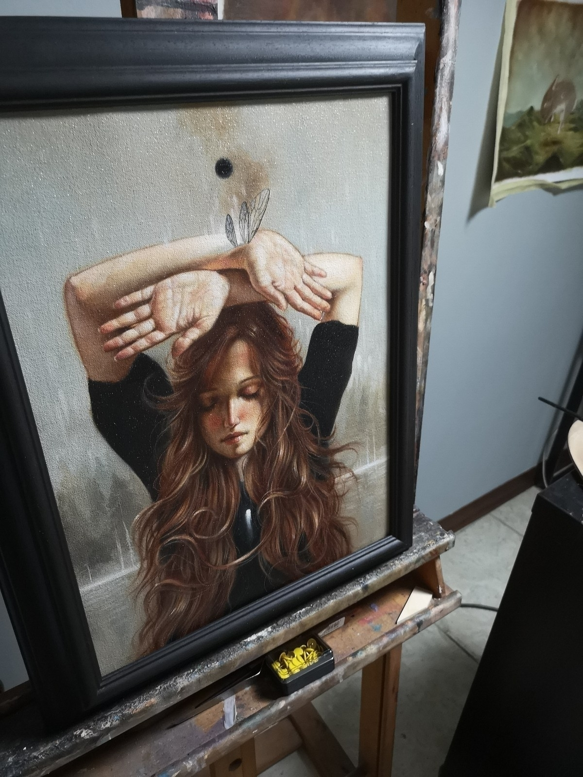 painting show Modern Eden Galle - ania_tomicka | ello