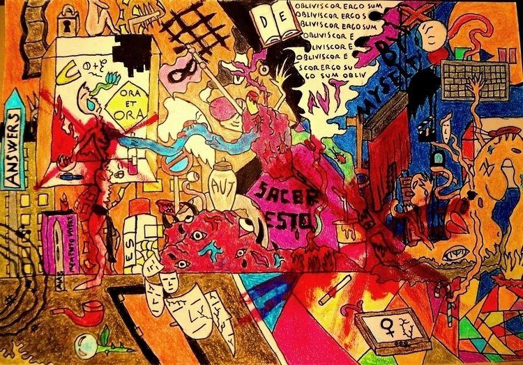 drawing disturbing enjoy. drawi - dariuccio | ello