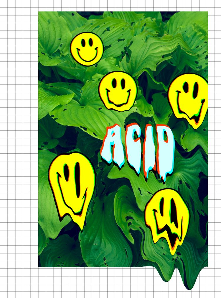 trippy - acid, collage, popsick - popsick | ello