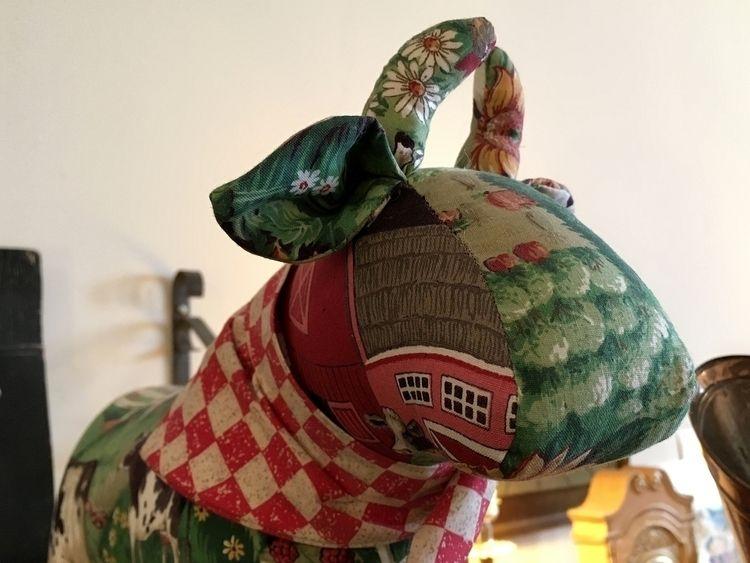 1393. patchwork bull Wabash Dep - moosedixon | ello