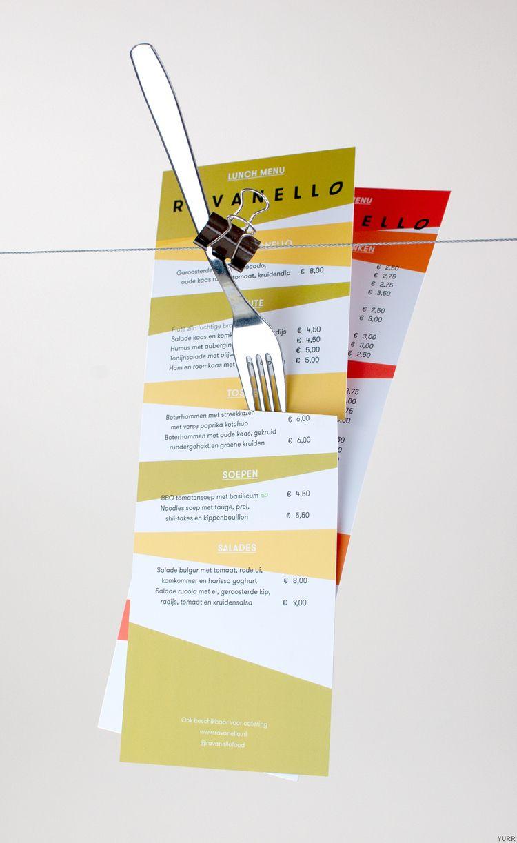 Ravanello ~ Menu - menu, photofestival - yurrstudio | ello