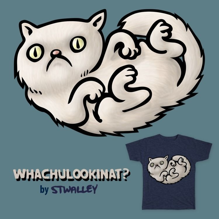 submitted Whachulookinat? cat d - stwallskull | ello