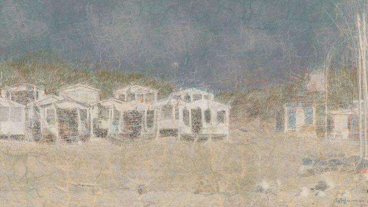 Beach Cabins Neural Network Sty - dickholzhaus   ello
