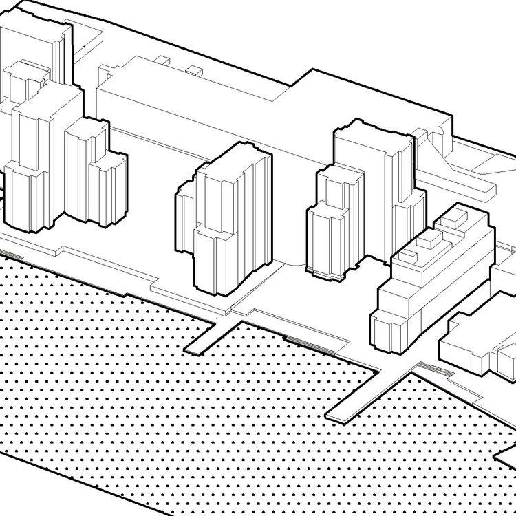 Axonometry Roosevelt Island - architecture - austejam   ello
