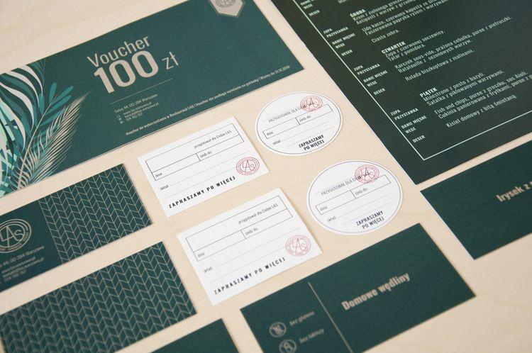 LAS - branding restaurant - illustration - ewelinagaska | ello