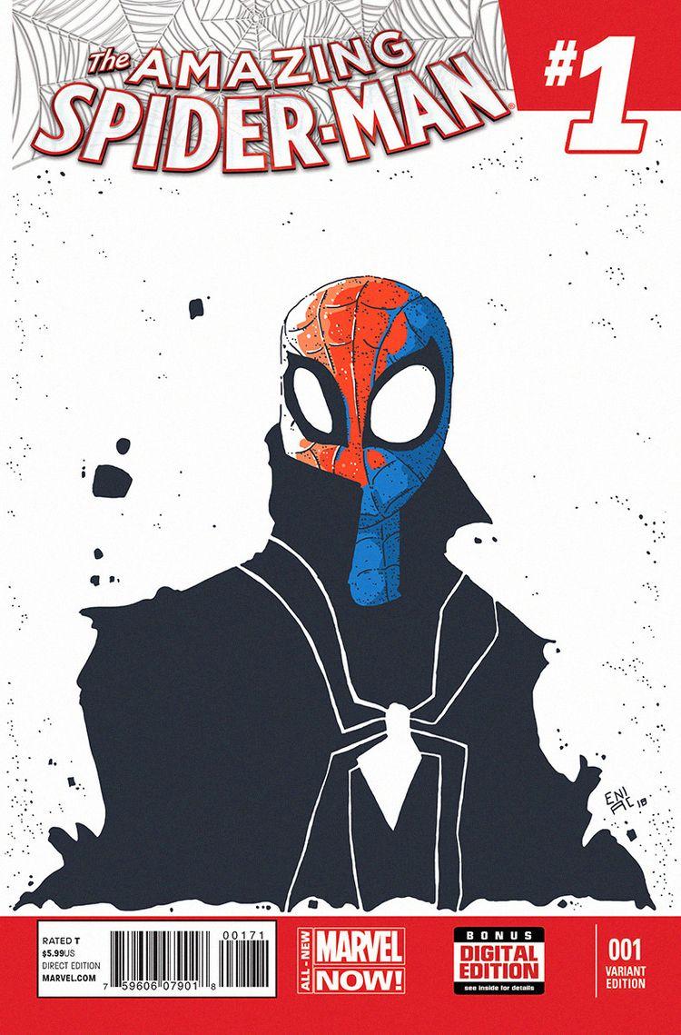 Amazing Spiderman (Blank Cover  - artereniac | ello