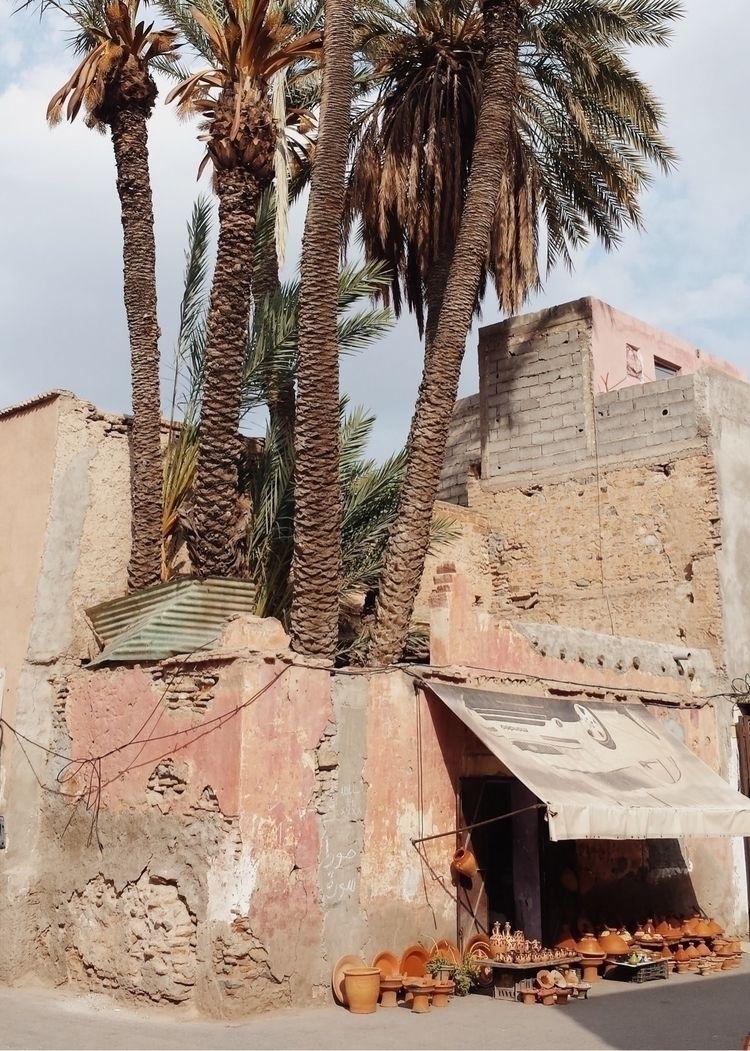 Marrakech - Marocco, palms, ceramic - lapremioqueen | ello