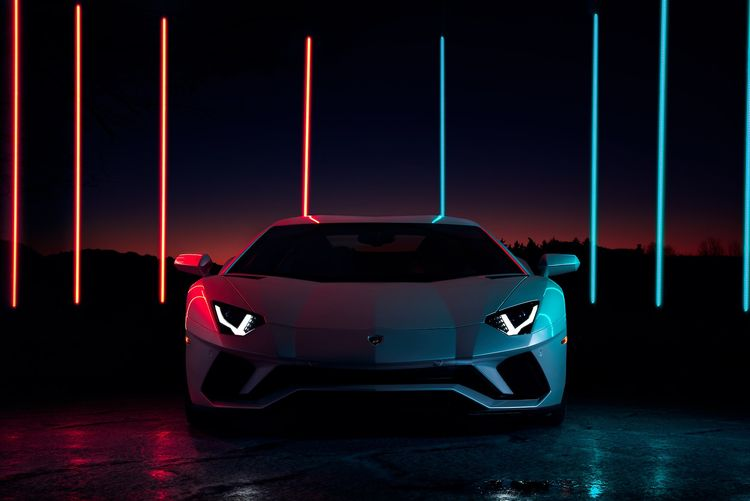 beauty - Lamborghini Aventador  - fabrik | ello