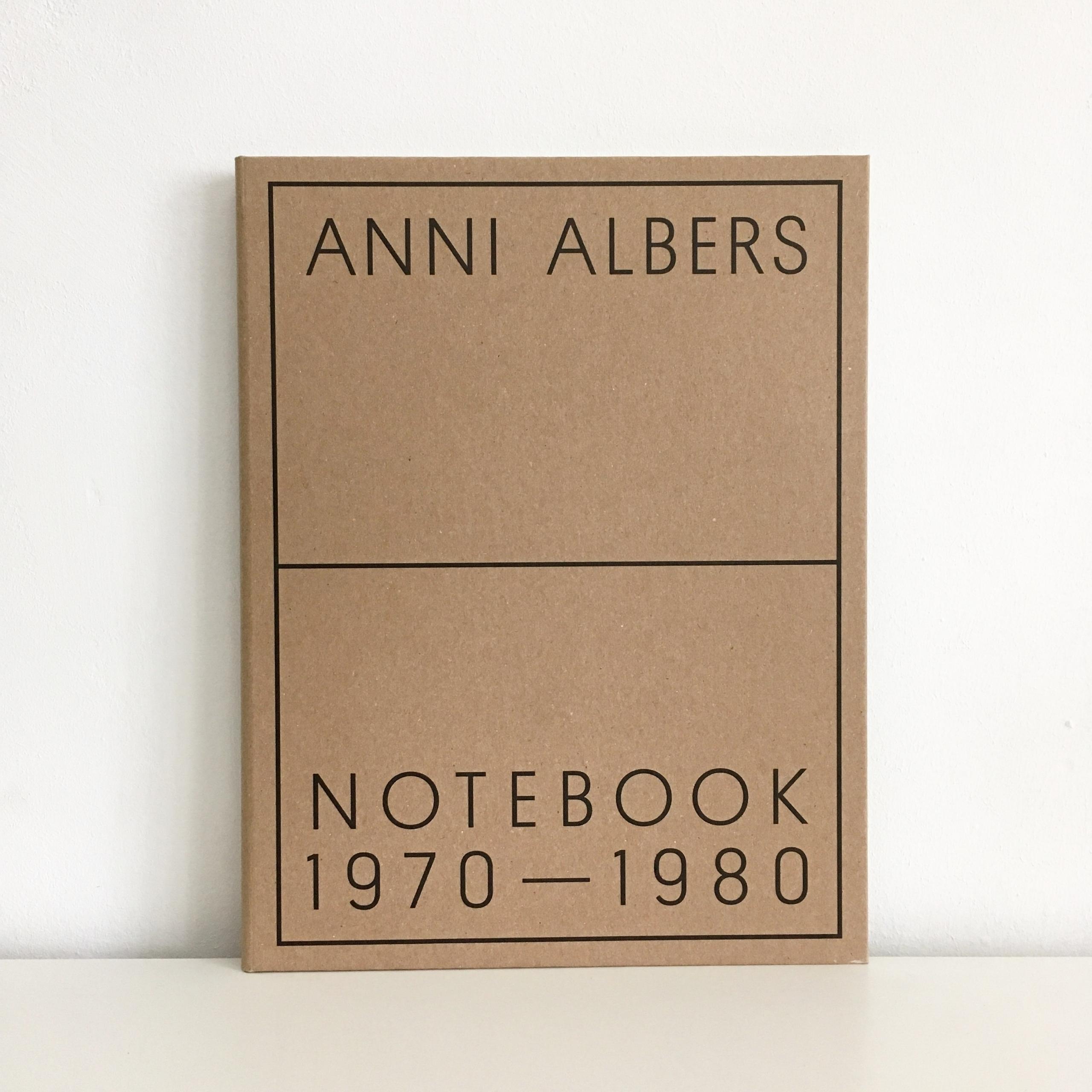 Anni Albers: Notebook 1970—1980 - sarahschrauwen | ello