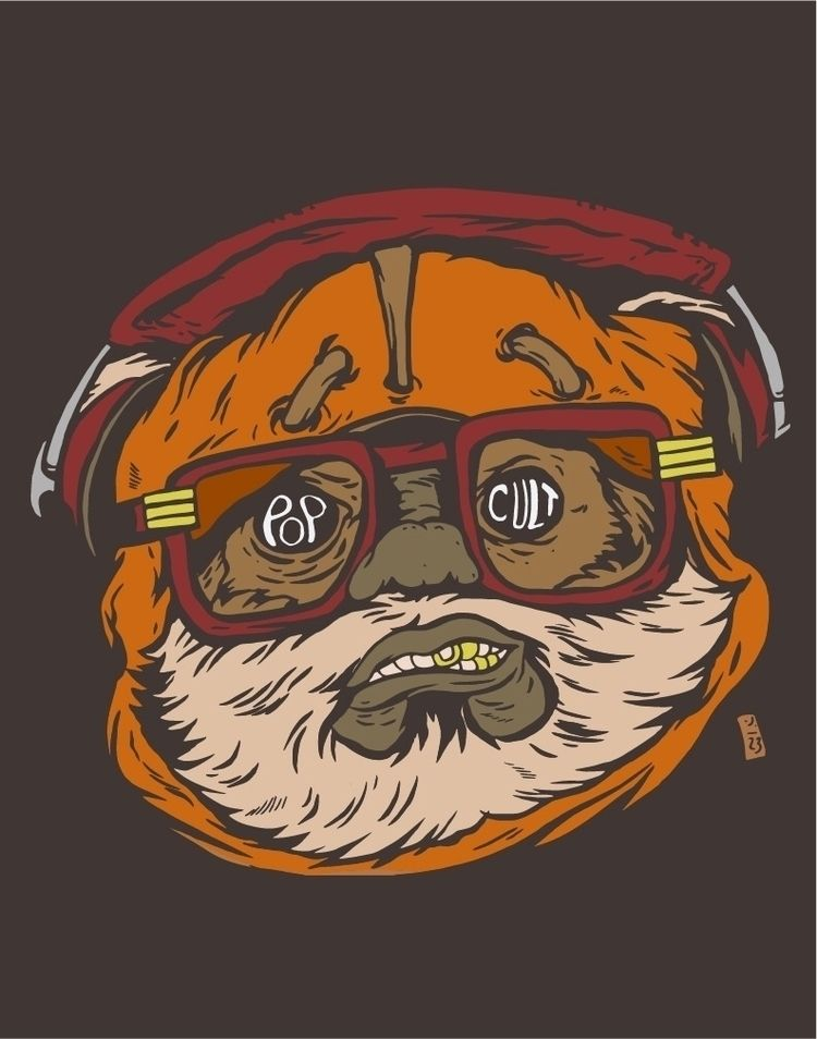 Pop Cult Ewok - thomcat23 | ello