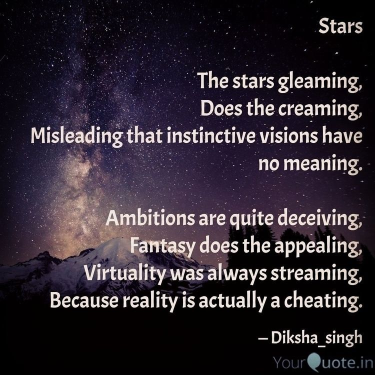 stars, philosophy, reading, firstpost - diksha2112 | ello