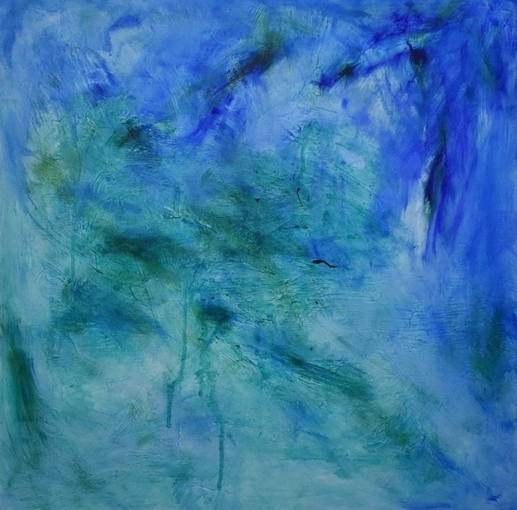 Untitled Acrylic Painting Chris - createdbychrista | ello