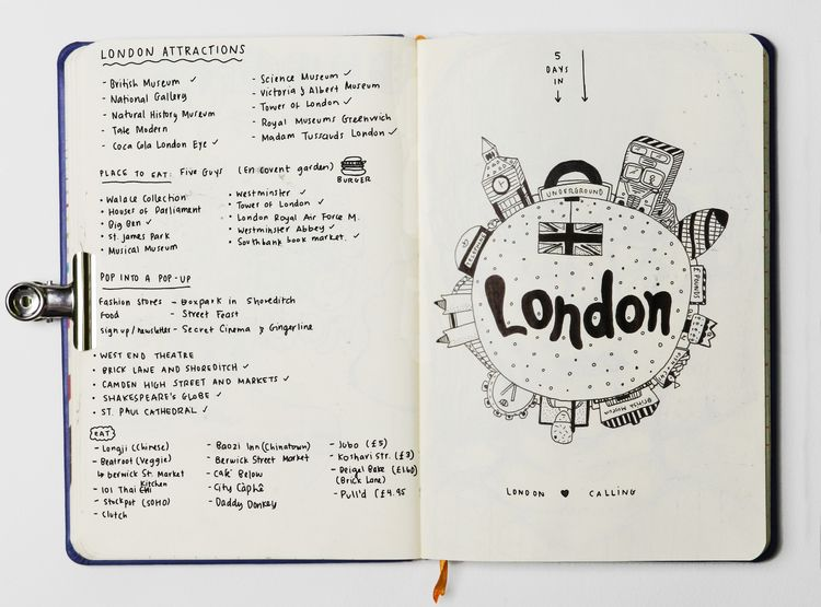 Sketchpages 2014 - London Check - vaniagettkant | ello