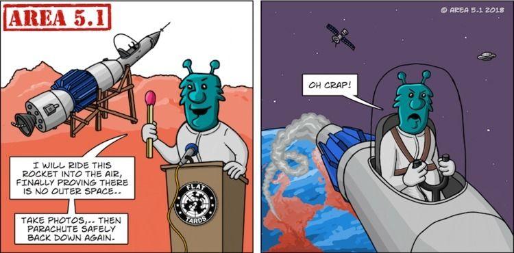 Rocket Ears - FlatEarth, Space, BigScience - rickatkinson | ello