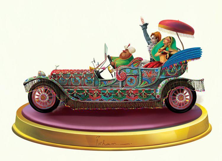Indian Fairytale - India, Car, Wedding - isntri | ello