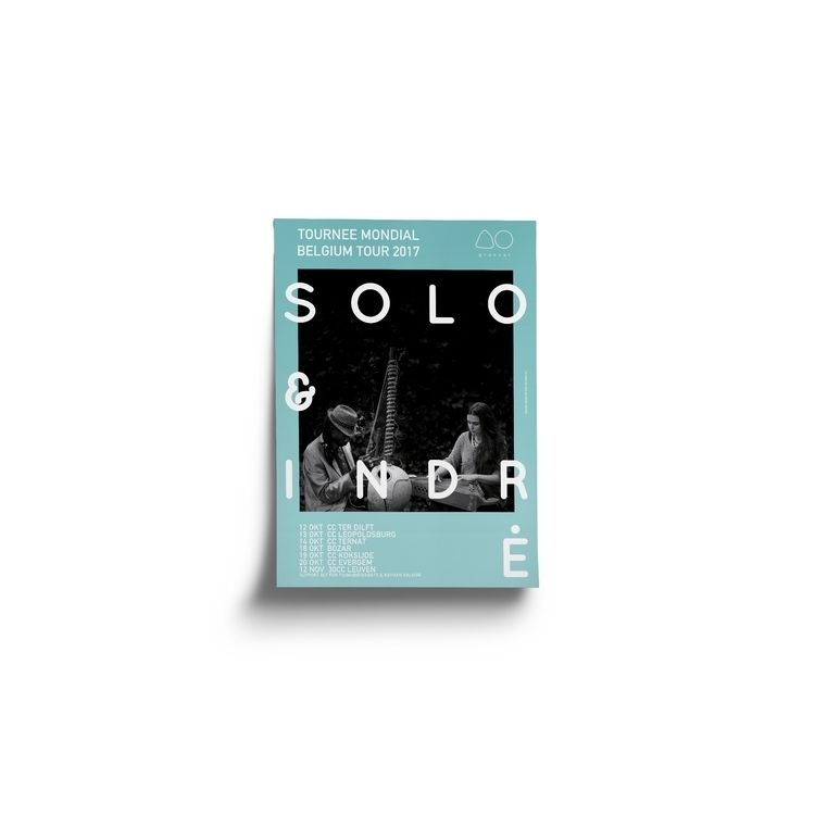 Poster designed SOLO INDRĖ — Be - evelinekurylak | ello