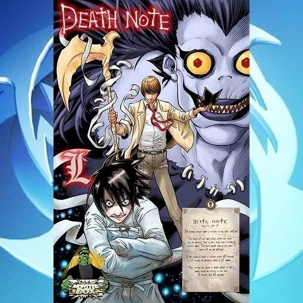 likes Death Note? weekend, appe - waldenwongart | ello