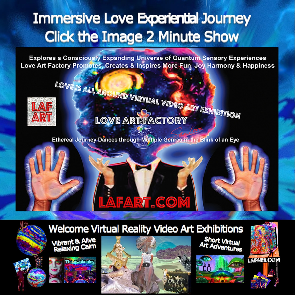 Virtual Art Exhibition 2 Minute - loveartfactory   ello