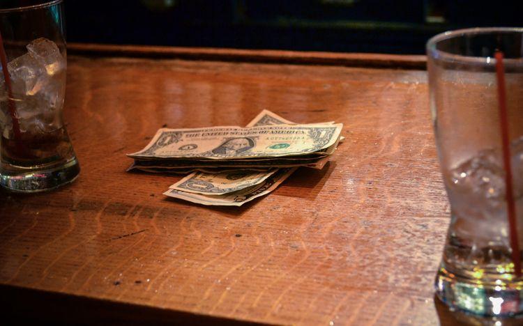 LEAVE FUCKING TIP, 2012 - money - mlledarcel | ello