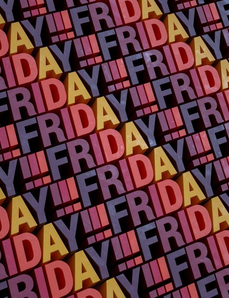 Friday - 3d, c4d, render, cinema4d - petr_lahodny | ello