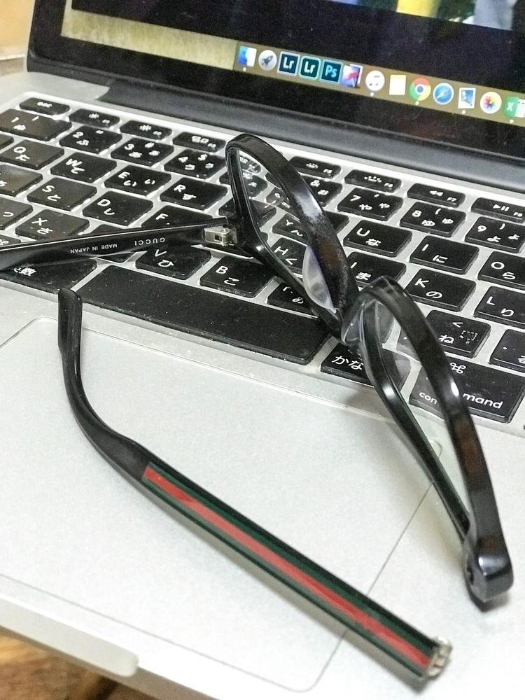 3年くらい使ったメガネが壊れた。 もう度が合わなくなってきたか - shigegoto | ello