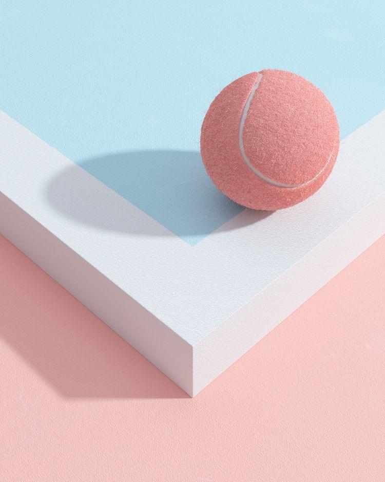 TENNIS Table-Tennis - surreal, minimalism - molistudio | ello