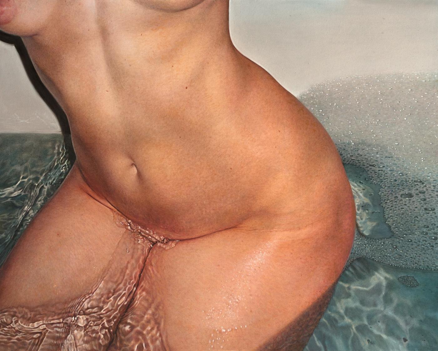 BATHING oil canvas H80xW120 cm  - savenkovaviktoria | ello