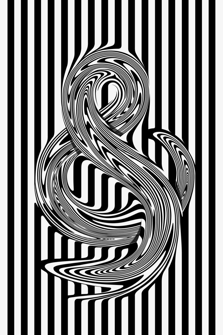 Trippy typography Juan Carlos P - fabrik | ello