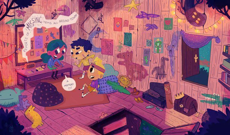 Sara Kieley comics, illustratio - bldgwlf | ello