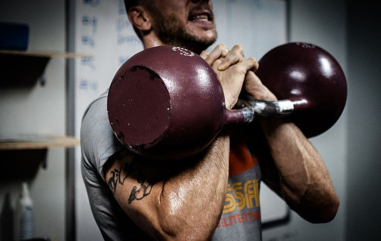 good physique? Kettlebell train - kettlebellathletic | ello