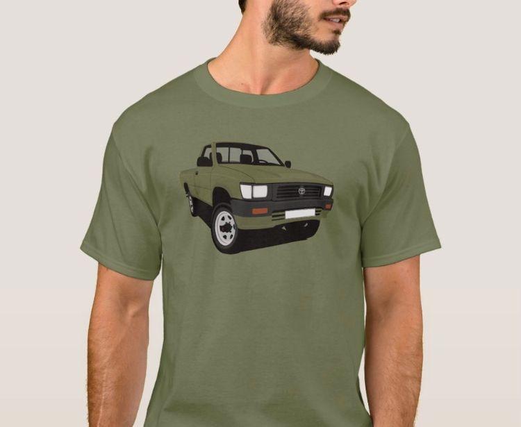 Classic pickup truck late Toyot - kaimetsavainio | ello