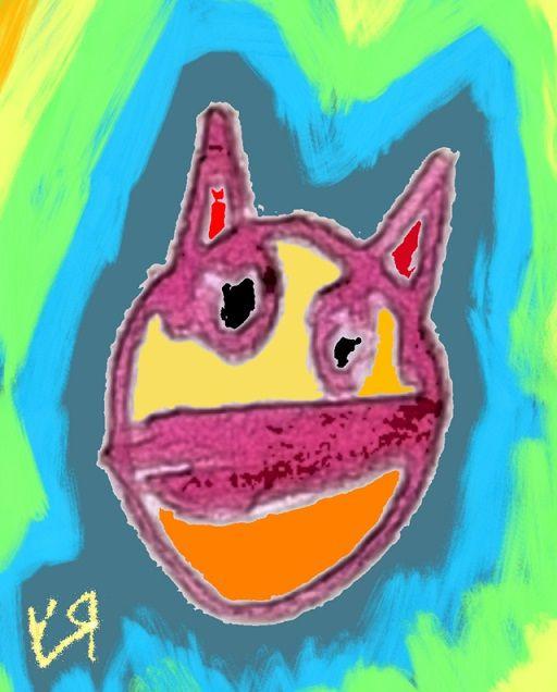 Evil Cat Mask Richard Yates mas - richardfyates   ello