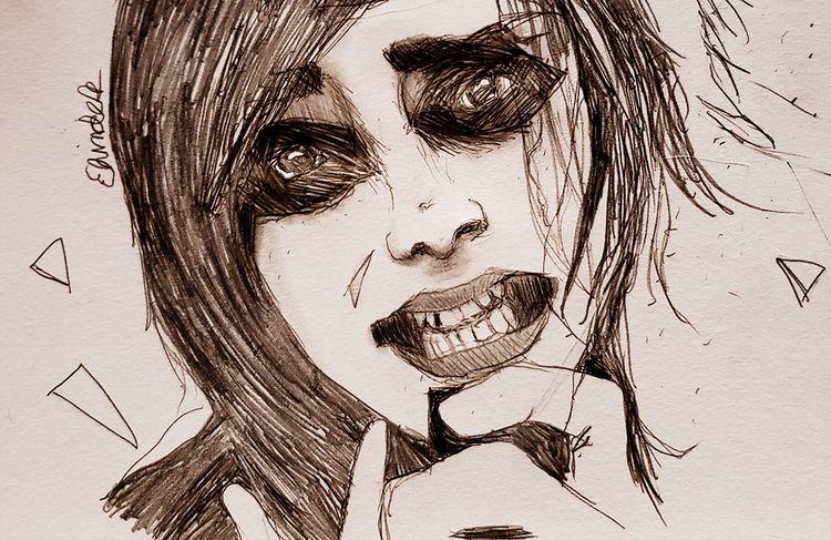 betrayal - art, drawing, graphite - andaelentari   ello