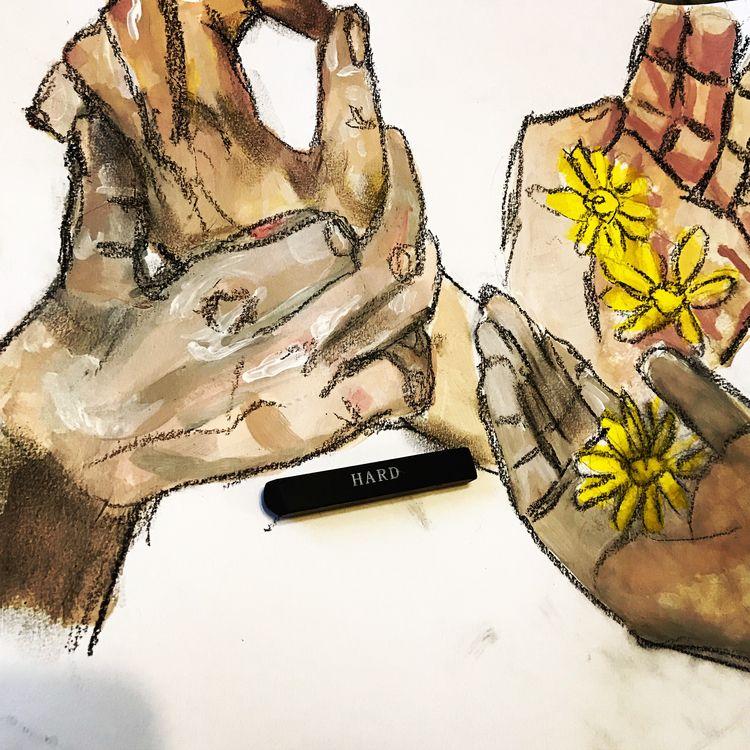 hand studies - alexzembo | ello