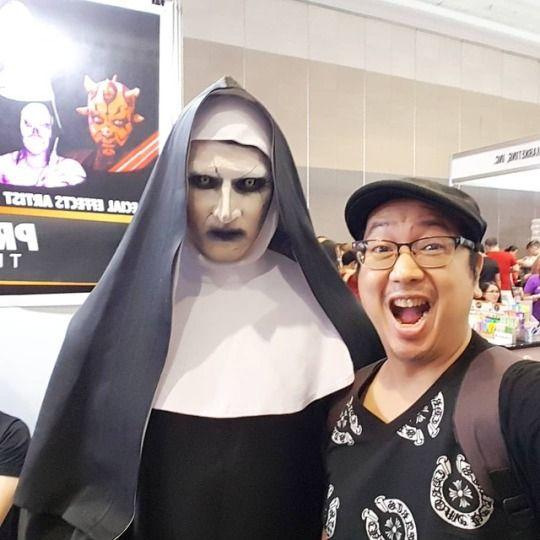 scary Valak hit horror movie Nu - vicsimon | ello
