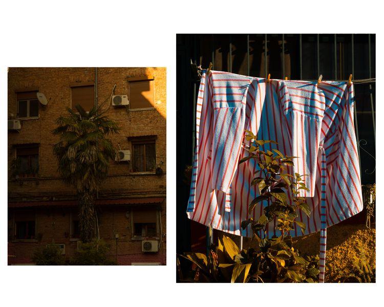 Tirana: juxtaposition communism - alda_kw | ello