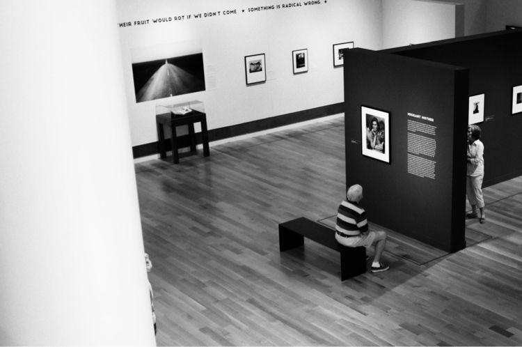 Dorothea Lange exhibit Reynolda - flaneurity | ello