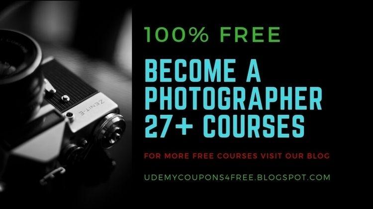 Udemy Courses Free: photographe - jawadakhtar | ello