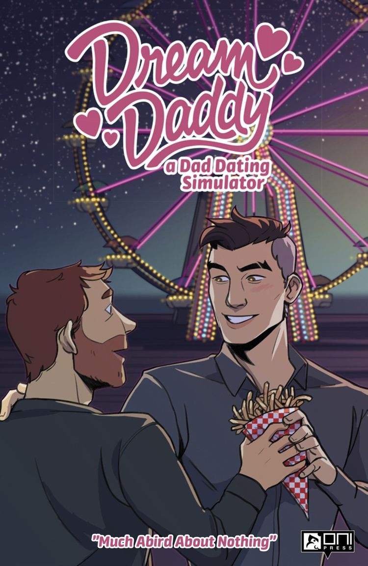 Dream Daddy Review Daddy, hit d - comicbuzz | ello