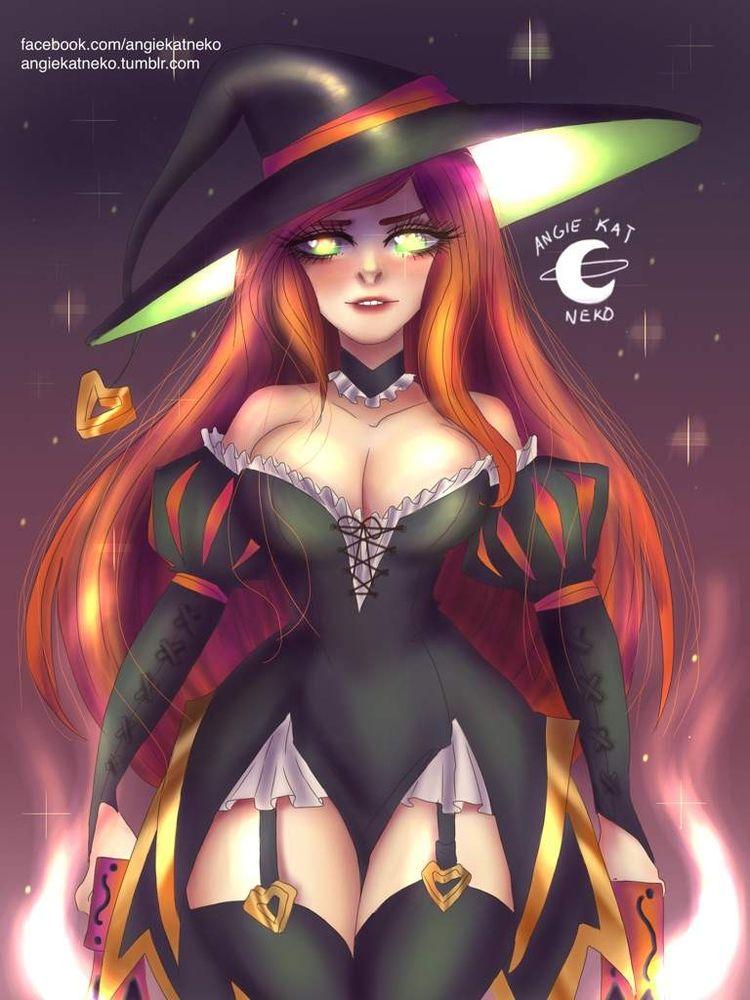 Bewitched Fortune concept desig - angiekatneko | ello