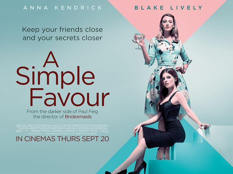 Simple Favour Review stylish po - comicbuzz | ello