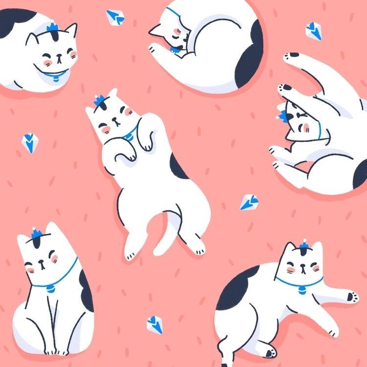 aristoCATS - cat, cats, ipadart - somewandraws | ello