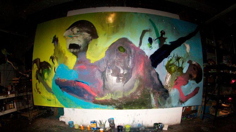 Wesley Kimler Studio - Untitled - cleancutcrooks | ello