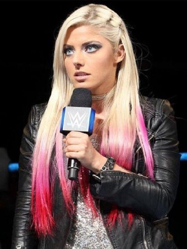 Alexa Bliss WWE Leather Jacket - samishly   ello
